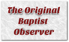 The Original Baptist Observer Newspaper