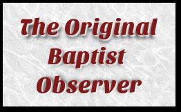 The Original Baptist Observer Newspaper